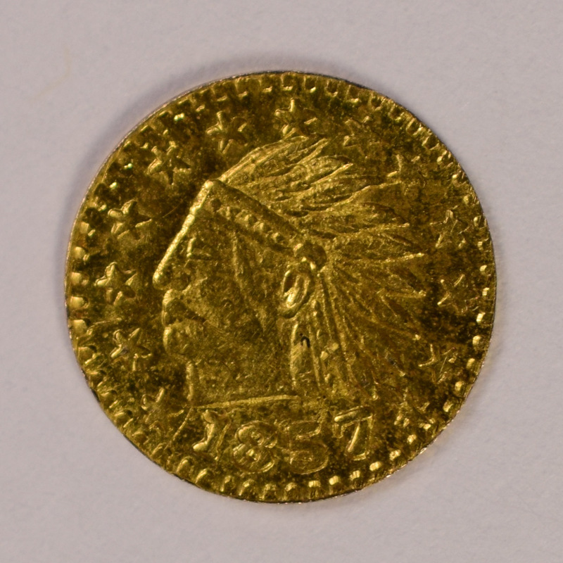 "Non-govt Issue, 10 Karats: ""jewler's Gold"" = Token"